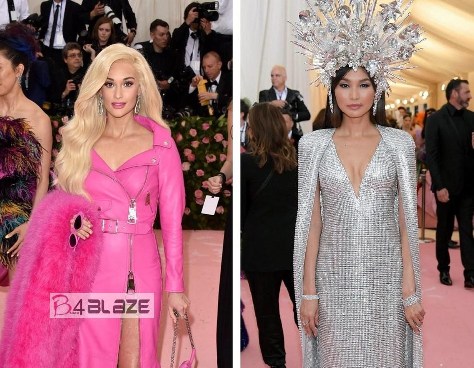 Kacey Musgraves and Gemma Chan Sparkle