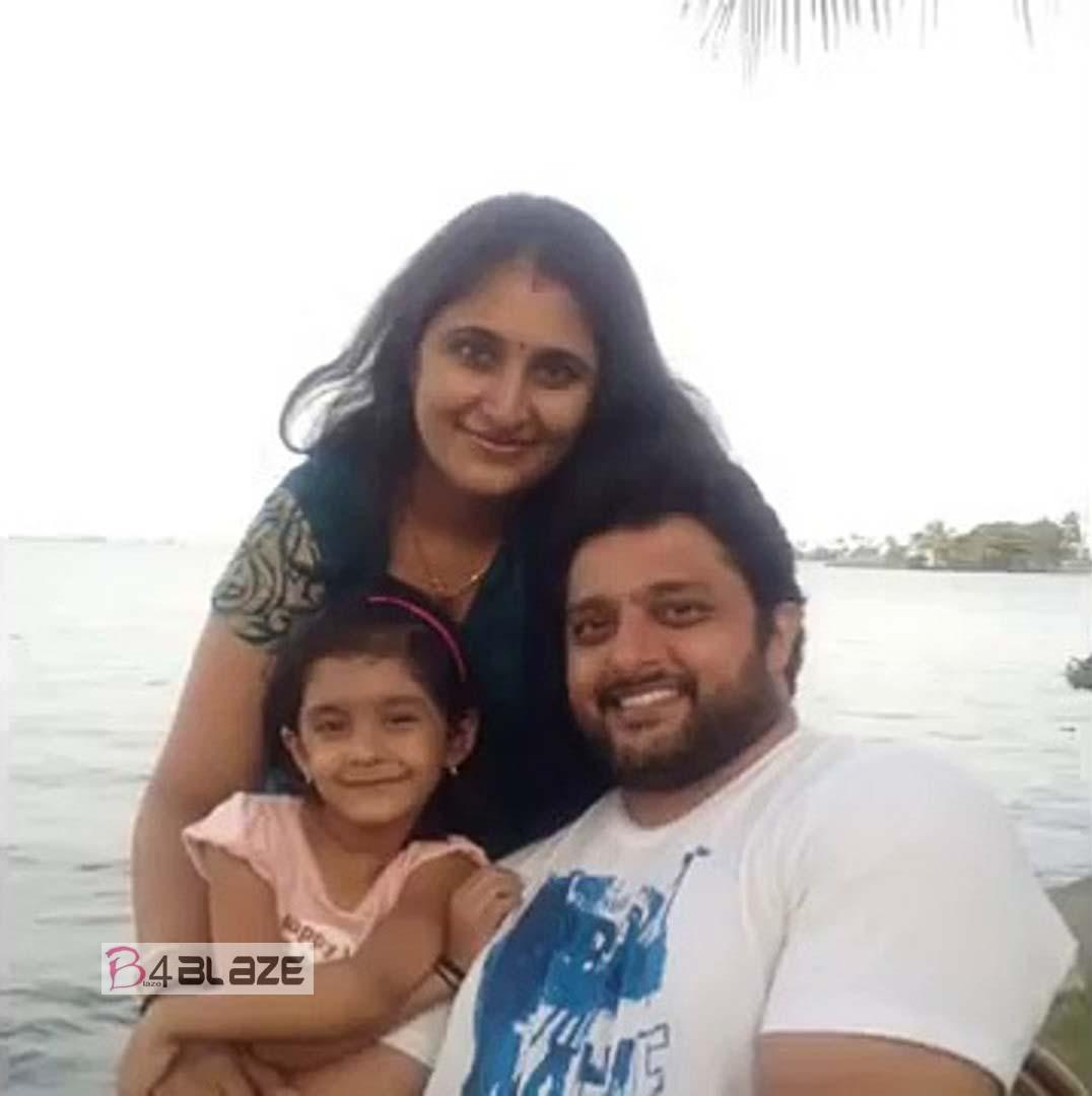 Madhu Warrier Family Photo
