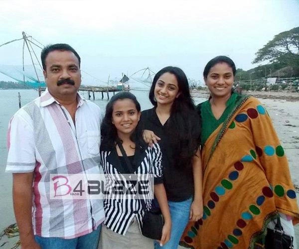 Namitha Pramod Family..
