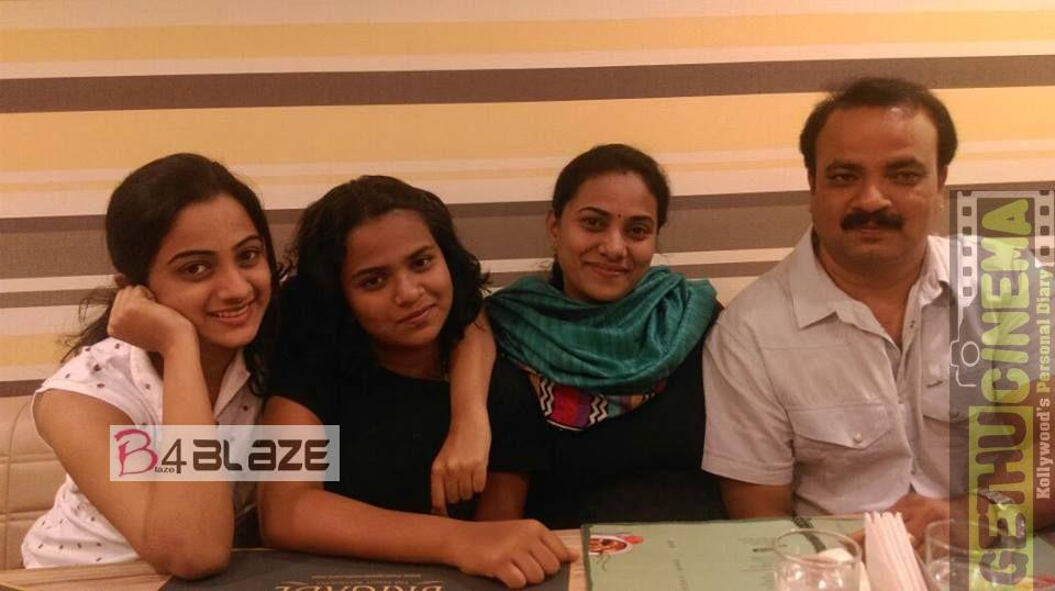 Namitha Pramod Family