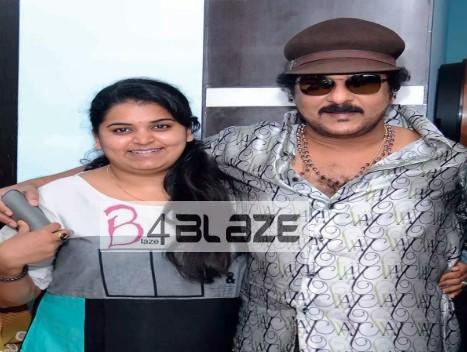 Ravichandran and Daughter