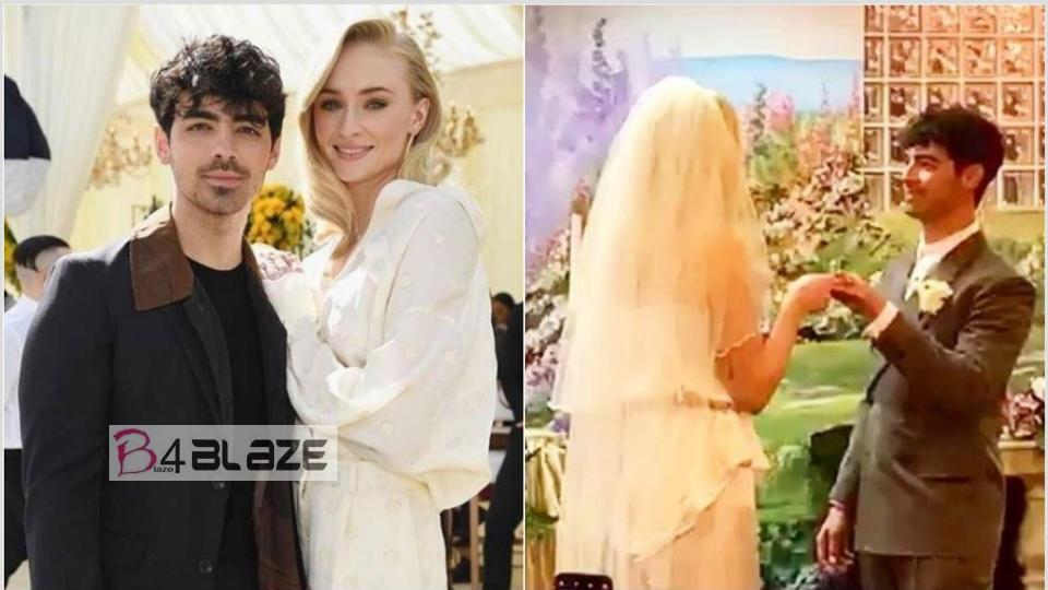Sophie turner wedding
