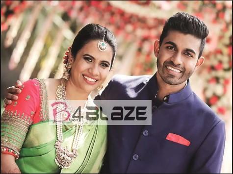 Yuva Rajkumar and Wife