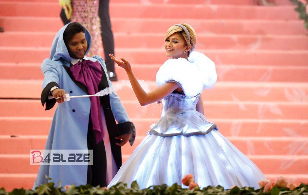 Zendaya Cinderella met gala