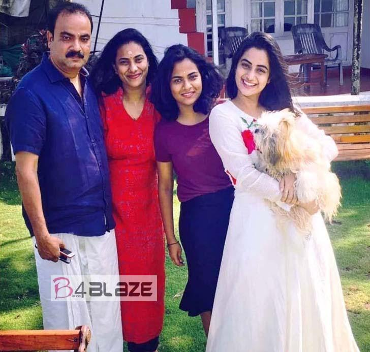 namitha Family Photo