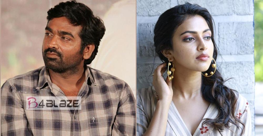Vijay Sethupathi and Amala Paul