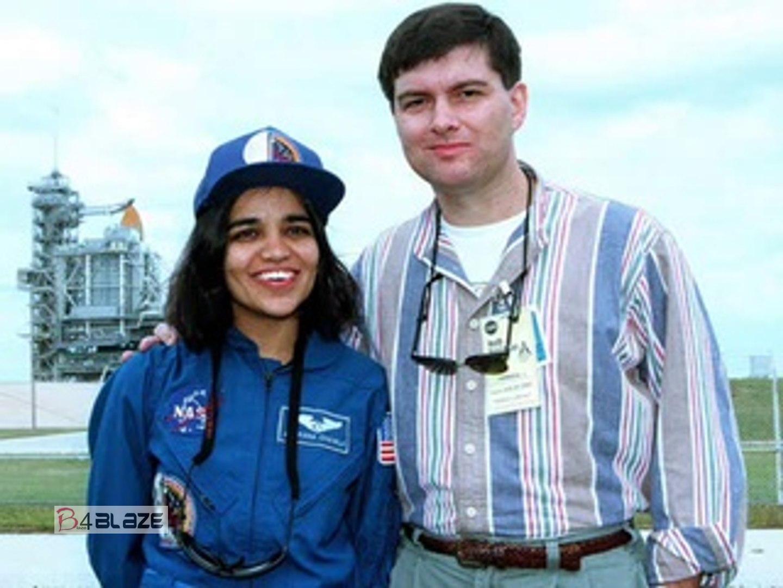 Kalpana Chawla and Husband