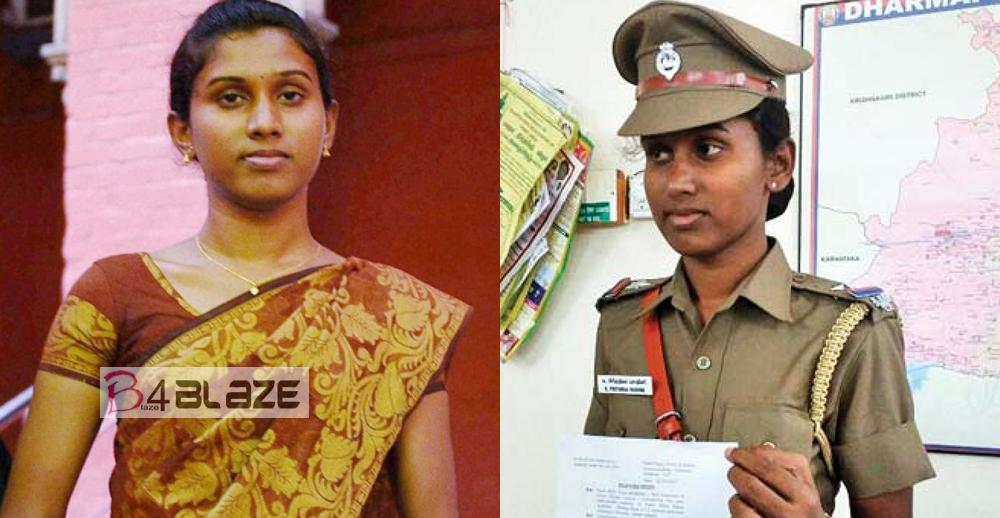 Prithika Yashini, She is the First Transgender Police officer of India