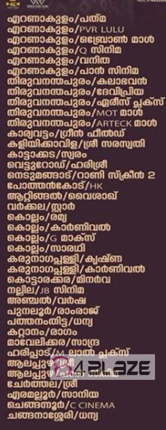 sathyam paranjal viswasikkuvo theatre list 1