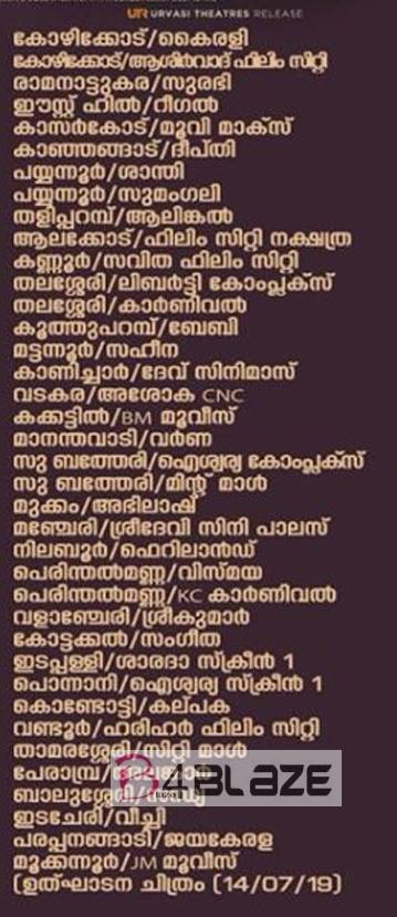 sathyam paranjal viswasikkuvo theatre list 3