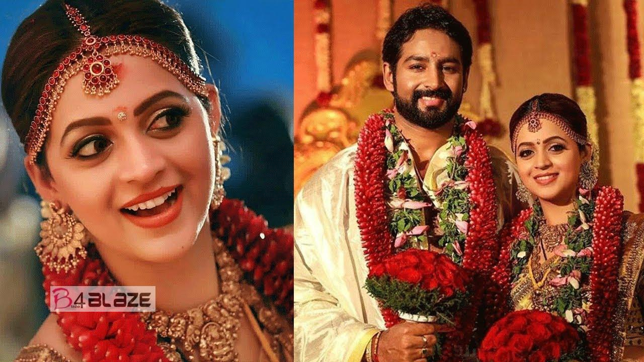Bhavana wedding hd photos