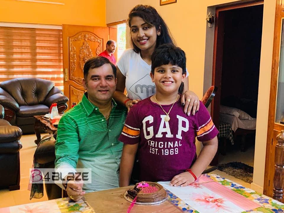 Navya Nair Husband Santhosh Menon