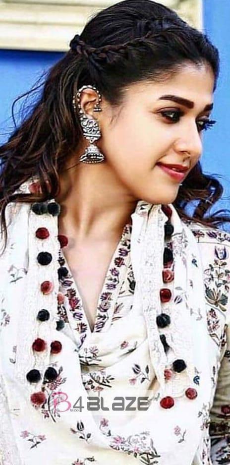 Nayanthara stunning look