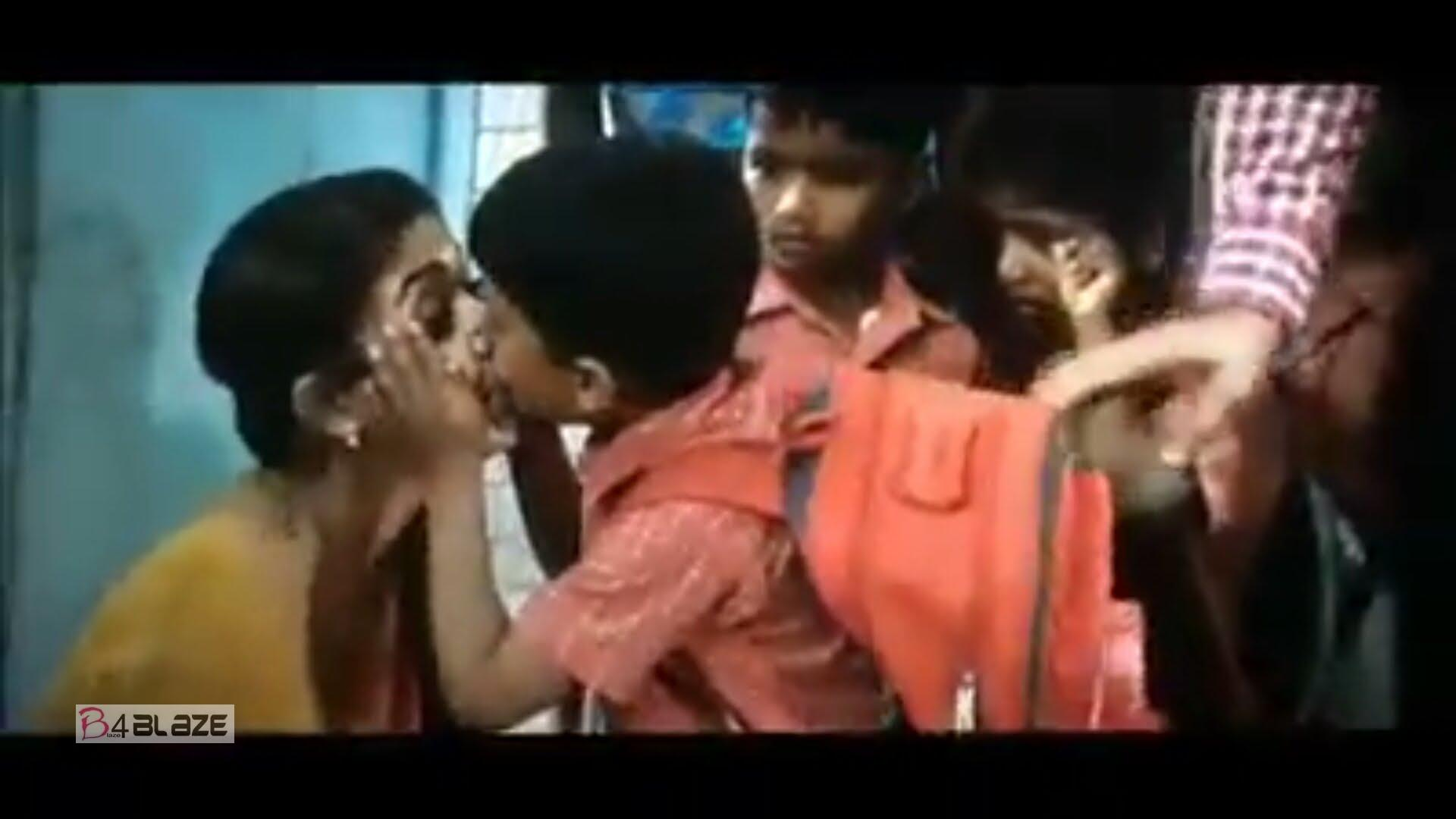 Nayanthara's kissing scene with a school student