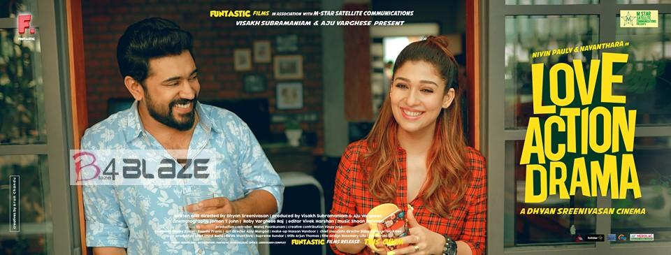Nivin Pauly and Nayanthara in Love Action Drama