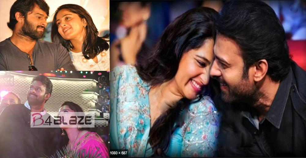 Prabhas and Anushka Shetty's Romantic Photos