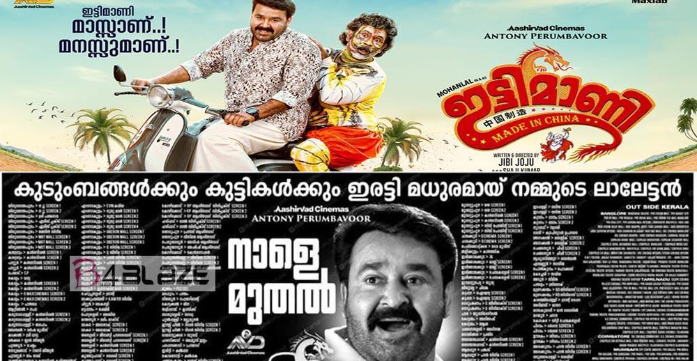 Ittymaani Made in China Theatre List in Kerala
