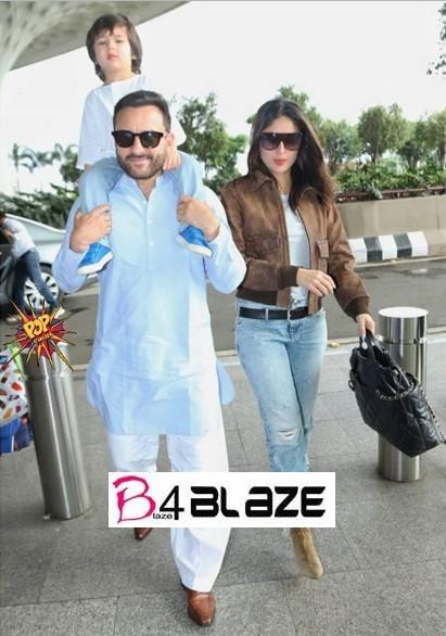 Kareena Kapoor and her Family
