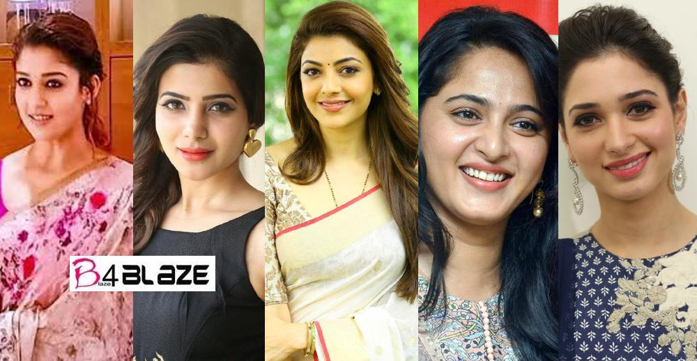 Top 10 Highest Paid South Indian Actresses