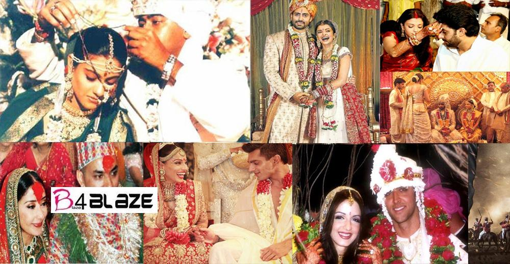 20 Bollywood Actress Royal Wedding Day Look