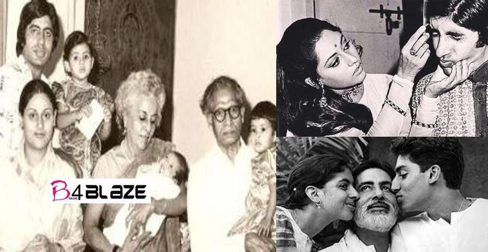 Amitabh Bachchan's Rare and Unseen Family Photo Collections