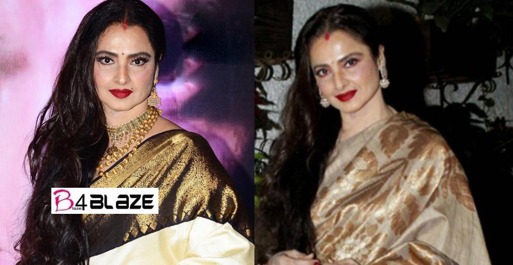 Rekha looks younger than the newcomers actress even at the age of 65, know what a diet plan is