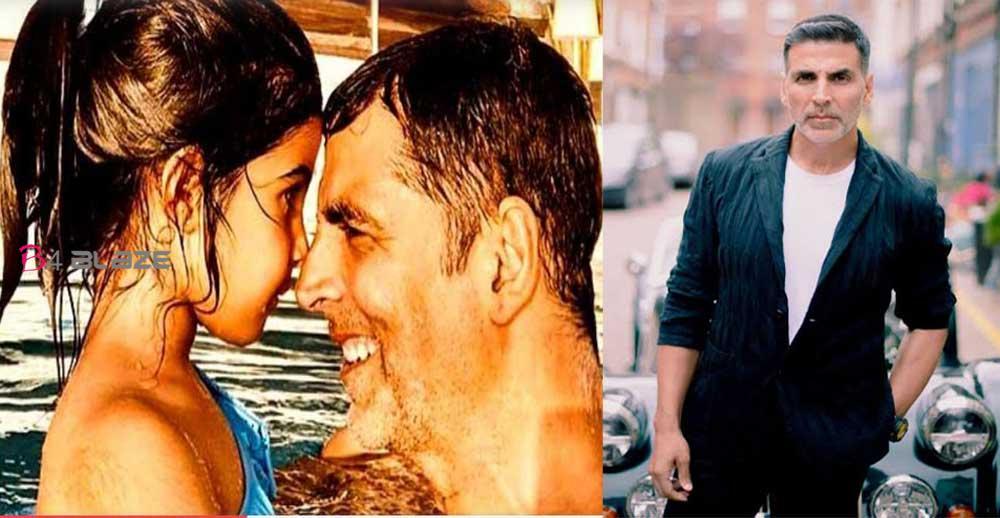 Akshay Kumar shared videos with his daughter Nitara
