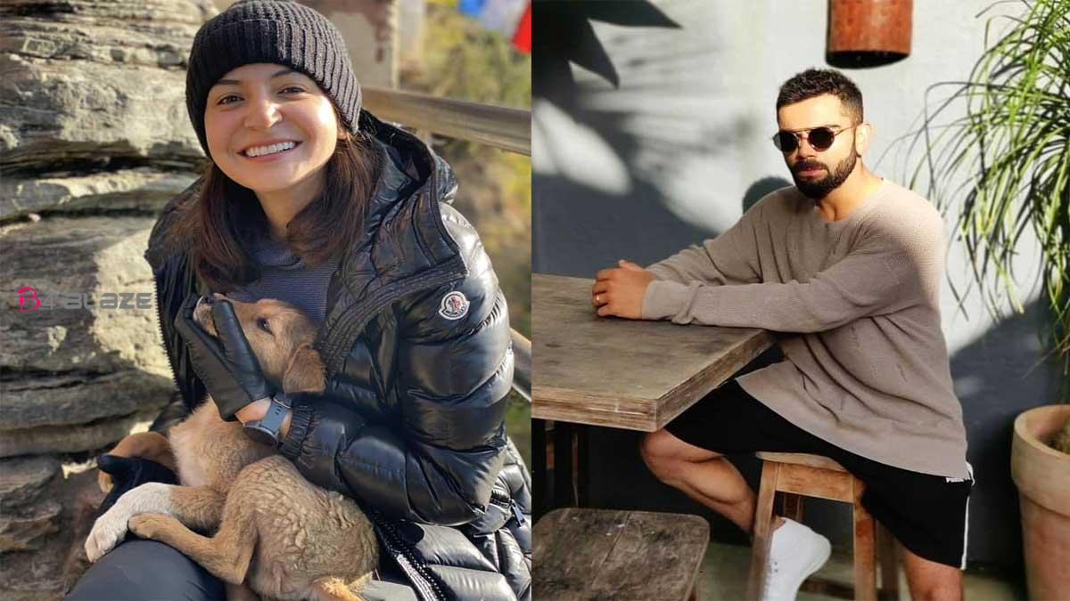 Anushka Sharma was shared new pics from her Bhutan trip with Virat and cuddle with cute calves