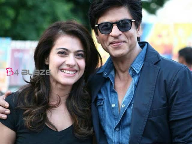 kajol with shahrukh khan