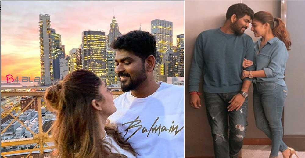 Lady Superstar Nayanthara celebrates her birthday with Vignesh Shivan in New York City