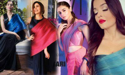 From Aishwarya to Alia, Bollywood divas have a metallic sari