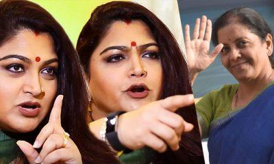 Nirmala Sitharaman blocked Khushboo on Twitter. Here is the reason