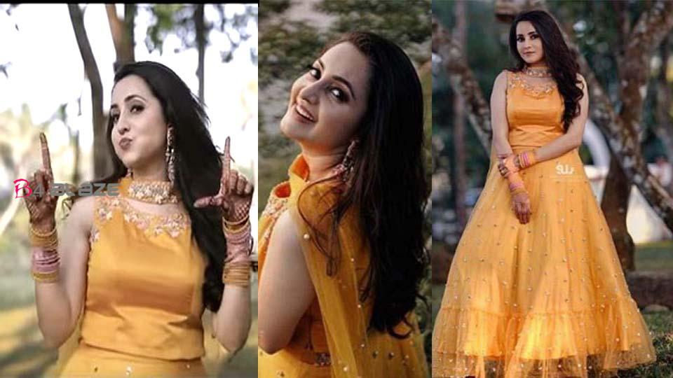 Bhama's Colorful Haldi Function Video is Out, Watch it