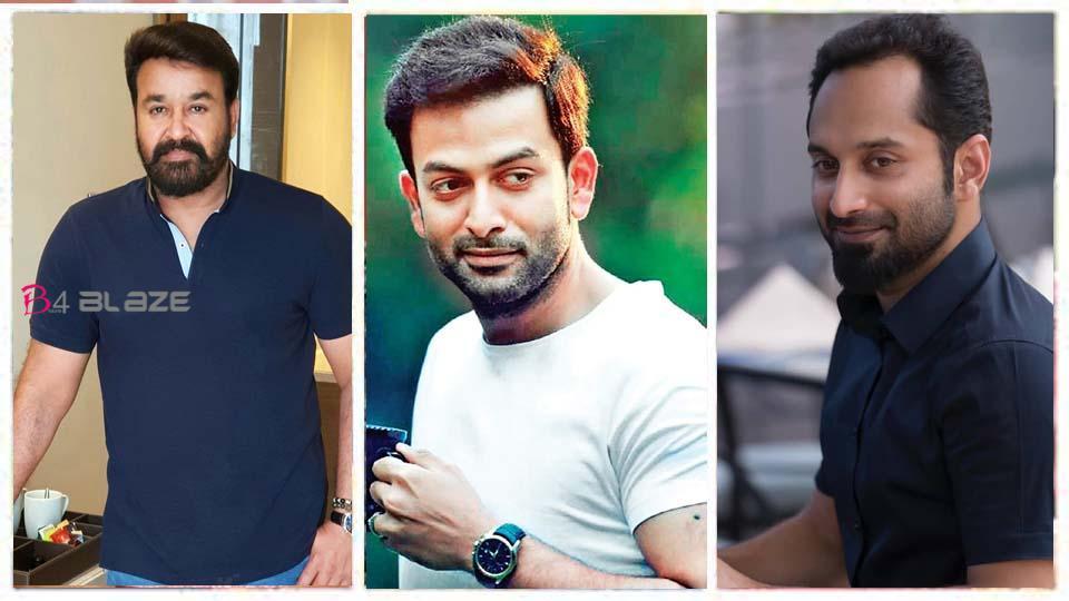 Mohanlal, Prithviraj, Fahad Fazil Join Together For Amal Neerad