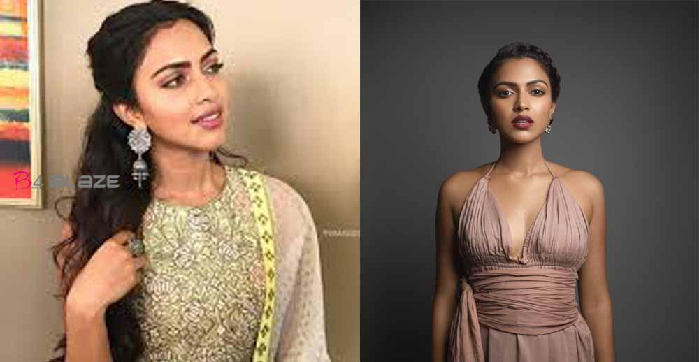 Sillukaruppatti interface in Amala Paul's straightaway