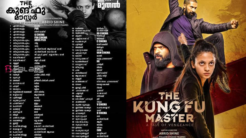 The Kungfu Master Kerala Theatre List