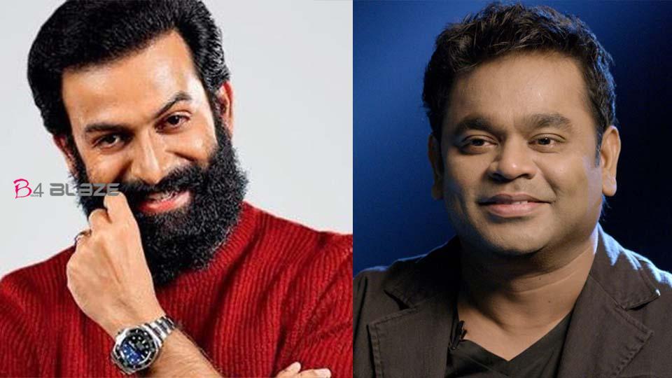 A R Rahman Back to Malayalam Cinema