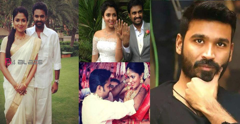 Dhanush is not a reason for our divorce Amala Paul