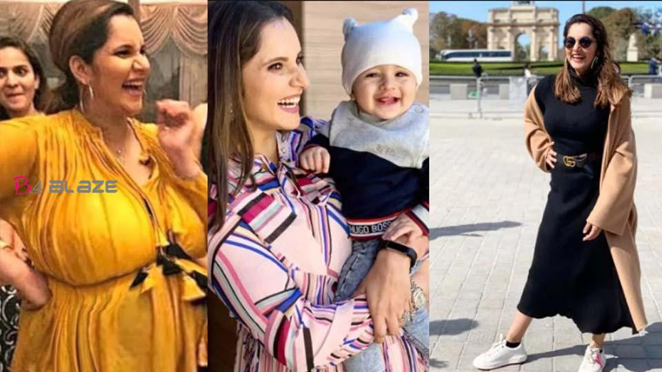From 89 kg to 63 kg; Social media taking pictures of Sania Mirza