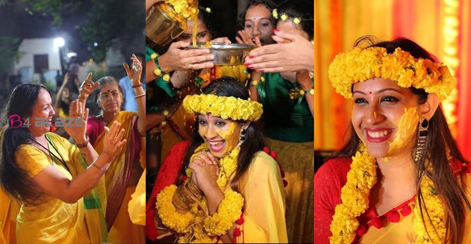 Sowbhagya Venkitesh Haldi Photos
