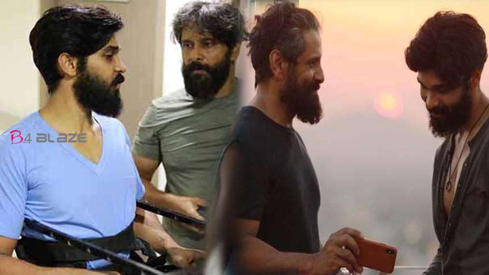 In my movie, My father act as a Clap Boy and the Location Manager, Dhruv Vikram open about Vikram