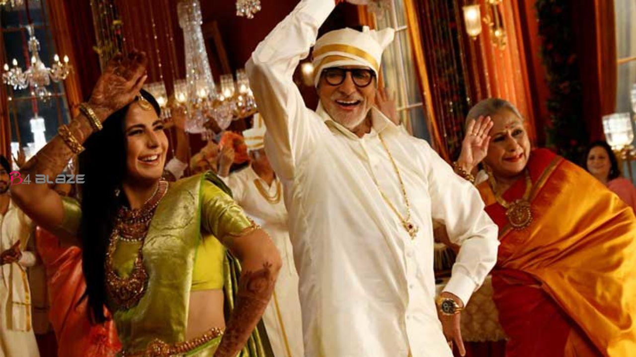 Katrina Kaif and Amitabh Bachchan