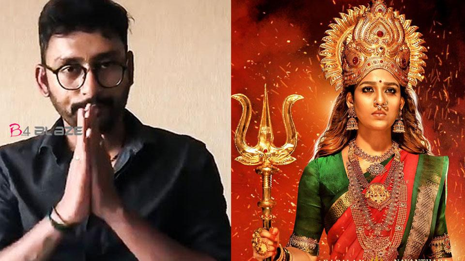 RJ Balaji's reply to a troll about Nayanthara