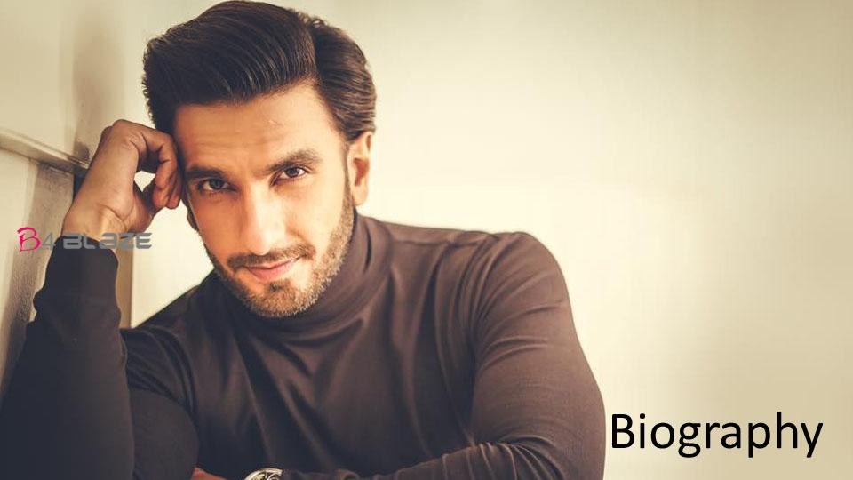 Ranveer Singh Biography, Age, Photos, and Family