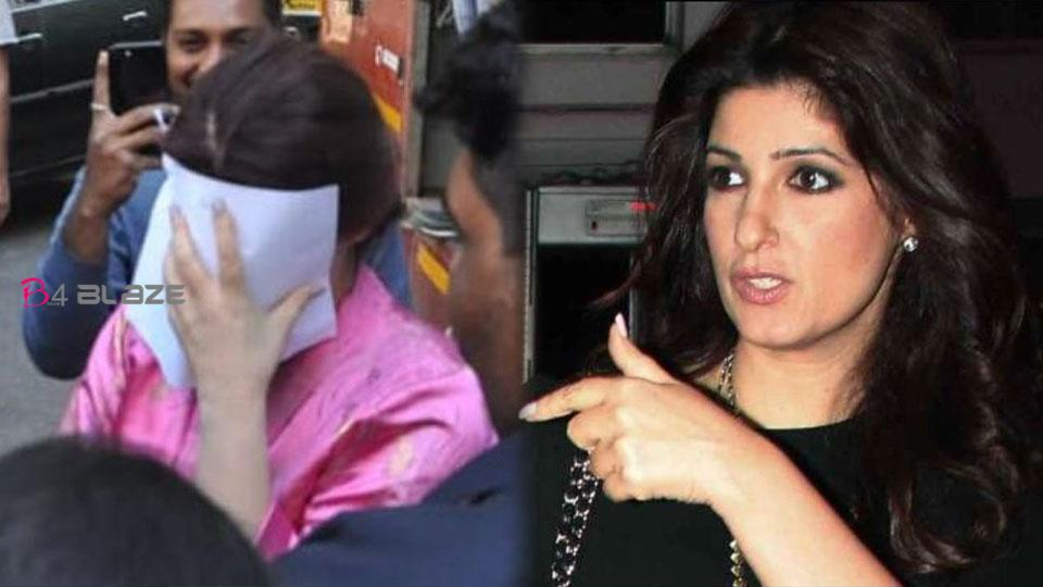 Twinkle Khanna covered her face with a sheet of paper, here is the reason