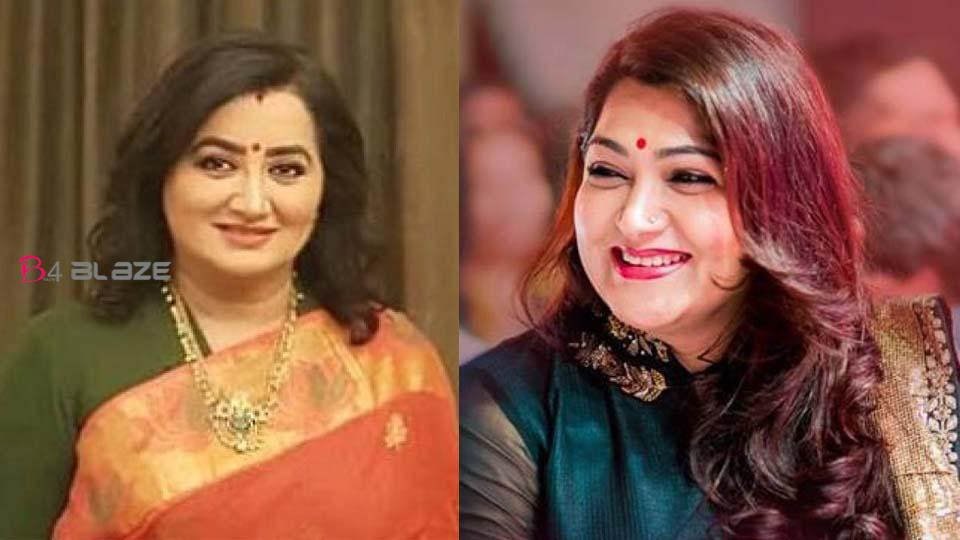 Khushboo appreciate Sumalatha