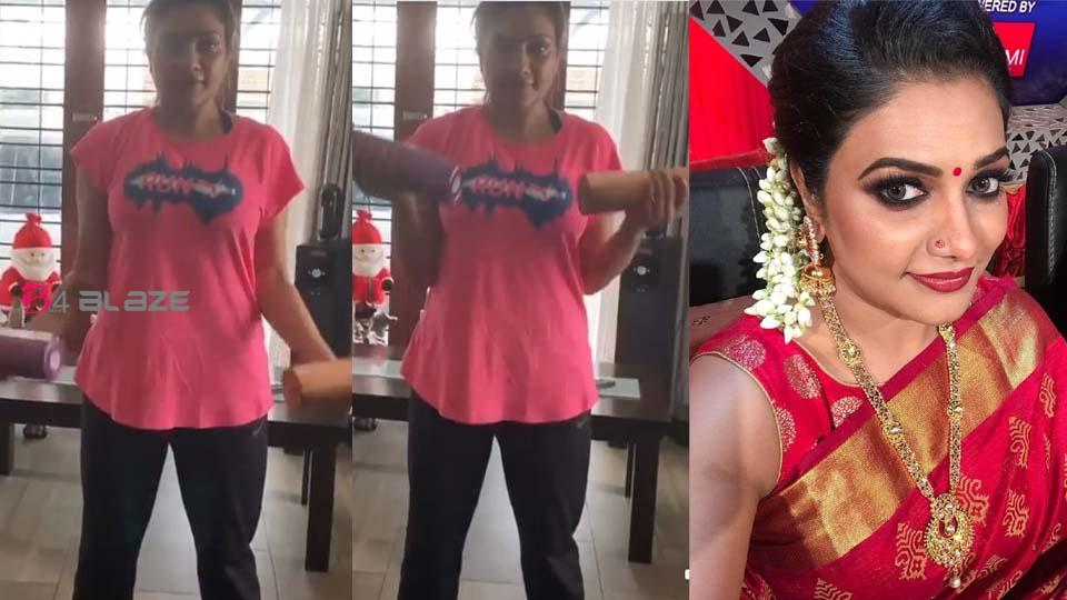 Rimi Romy's New Workout Video Went Viral, Watch Video!