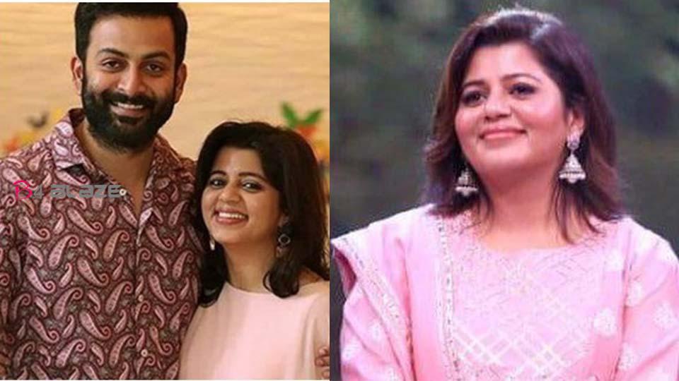 Supriya Post about Prithviraj