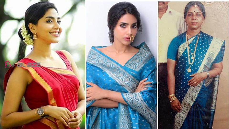 Aishwarya Lekshmi's Looks Wonderful In Her Mother's Saree