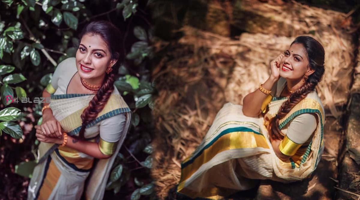 Anusree;s Traditional Model Photoshoot Viral on Social Media!